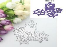 Metal Cutting Die Handmade Cards Christmas Candle Decoration Die Cutter A1377