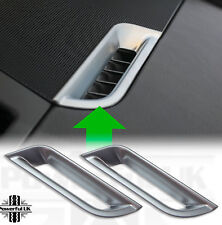 Interior dash vent trim HSE luxury Freelander 2 Silver LR2 chrome upgrade cover