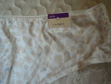 NWT - Cacique - Hipster Panties - 26 / 28 - Beige / Lace Back Side trim