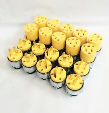 10x Male & 10x Female Extension Cord Replacement Electrical Plugs 15AMP 125V End