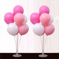 Clear Balloon Column Upright Balloons Display Stand Party Wedding Decor Set BW