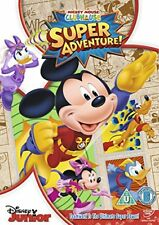 Mickey Mouse Clubhouse - Super Adventure [DVD] New Sealed UK Region 2