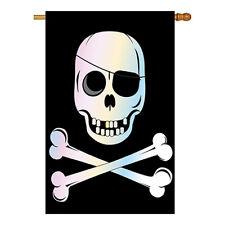 Jolly Roger - Applique Decorative House Flag - H115031-P2
