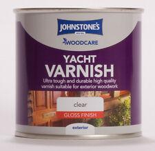Johnstone's Woodcare External Yacht Varnish Gloss 250ml Clear