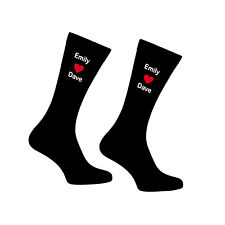 Personalised Socks Birthday Boyfriend Husband Printed Wedding Custom Groom Mr