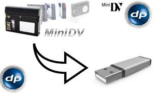 Mini - DV auf DVD oder Festplatte digitalisieren / überspielen, Mini-DV kopieren