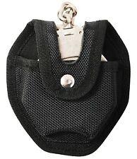 Black Open-Style Handcuff Case Enhanced High Density Molded Ballistic Case