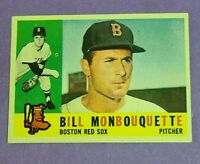 Bill Monbouquette Boston Red Sox 1960 Topps #544 Sharp