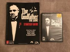 PlayStation 2 The Godfather The Game & Official Strategy Guide (Complete)