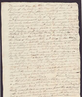 Orig. Document, 1823 BOXFORD, MA - Deed - ELIPHALET PERLEY and JOHN BROCKLEBANK