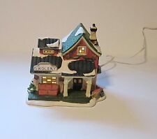 Lighted Christmas Village House-Grocery Store