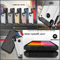 Etui Coque housse Antichoc Shockproof Hybride Case Motorola One / One Power