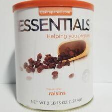 Emergency Essentials Freeze Dried Food Raisins #10 Can