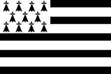 Drapeau Breton / Bretagne / 145 cm X 90 cm
