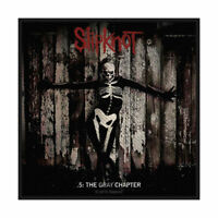 SLIPKNOT - GRAY CHAPTER - WOVEN PATCH - BRAND NEW - SPR2797