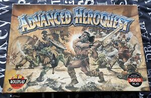 Advanced heroquest - complete and unpainted