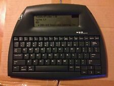 NEO ALPHASMART WORD PROCESSOR PORTABLE WRITING TOOL W/NewBatteries And Usb Cable