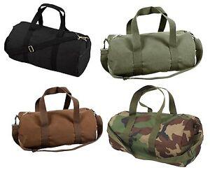 "Sports Gym Shoulder Canvas Sport Shoulder Duffle Bag with Strap 19""  x 9"""