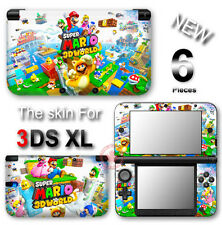 Super Mario 3D World SKIN VINYL STICKER DECAL COVER #1 for Nintendo 3DS XL