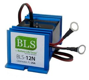 Battery Life Saver BLS-12N for a 12v battery system under 250A no for solar/wind
