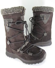 ITASCA WOMEN'S MOLLY SNOW BOOTS DARK BROWN US SIZE 6