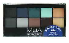 MUA Make up Academy Eyeshadow Palette Undressed and 12 Shades
