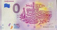 BILLET 0  EURO SEARDINHAS PORTUGAL  2019 NUMERO 020