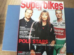 2001 SPRING SEASON PREVIEW SBK SUPERBIKE WORLD CHAMPIONSHIP SUZI PERRY,FOGGY