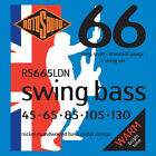 ROTOSOUND RS665LDN SWING BASS NICKEL BASS STRINGS, STANDARD GAUGE 5's - 45-130 for sale