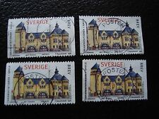 SUEDE - timbre yvert et tellier n° 2021 x4 obl (A29) stamp sweden