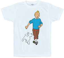 TINTIN T Shirt design