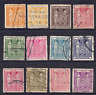 NEW ZEALAND - SELECTION OF USED DUTY STAMPS (2 SCANS) HCV