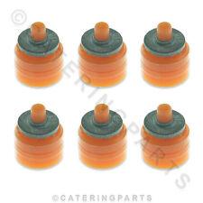 6 x ELBI 2.5 LITRI PER MINUTO VALVOLA SOLENOIDE Limitatore di OUTLET Arancione
