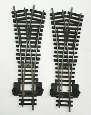 Hornby R632 Steel Y Points x 2 Pre-owned in good condition 00 gauge track