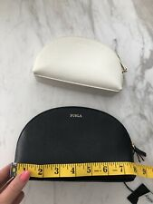 Furla black And White Cosmetic Bags Brand New
