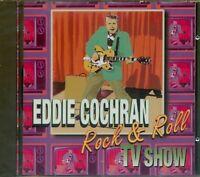 EDDIE COCHRAN. ROCK & ROLL TV SHOW CD NEW & SEALED