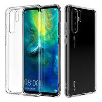 Transparent Case für Huawei P30 Pro Handy Hülle Cover Silikon Schutz Tasche TPU