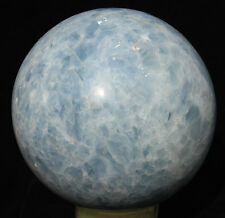 24930g NATURAL BLUE CALCITE CRYSTAL SPHERE BALL HEALING