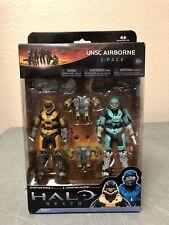 Halo Reach UNSC Airborne Spartan Mark V Spartan Hazop NIB McFarlane Toys