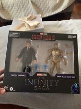 Hasbro Marvel Legends Infinity Saga Series Iron Man 3 Happy Hogan Iron Man Set