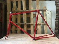 Reynolds 531 Steel, Single speed, fixie, track frame and forks. XL hand built.