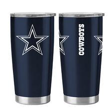 Dallas Cowboys Travel Tumbler - 20oz Ultra [NEW] NFL Cup Mug Coffee
