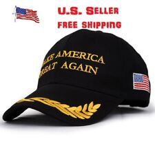 President Donald Trump Make America Great Again Hat US Adjustable Cap Black Star