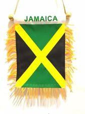 JAMAICA flag automobile rear view mirror or window flag car Home JAMAICAN pride
