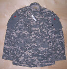 US Army Issue A2CU Camo Flight Shirt Small Long SL New With Tag