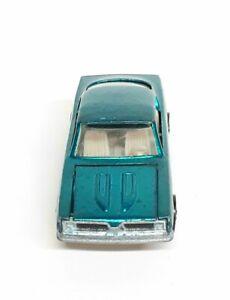 Hot Wheels 1967 Redline Teal Green Custom Barracuda