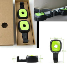 2x Green Back Seat Headrest Hooks For Bag Coats For 328i Civic Gti Car Truck SUV