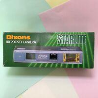 Vintage Dixons Brand New Old Stock 110 film Camera Collectors Piece