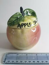 More details for apple sauce lidded pot by toni raymond vintage
