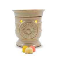 SALE ITEM  Sunflower Electric wax burner (warmer) + light & Spring scented tarts
